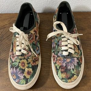 Vans Floral Low Tops